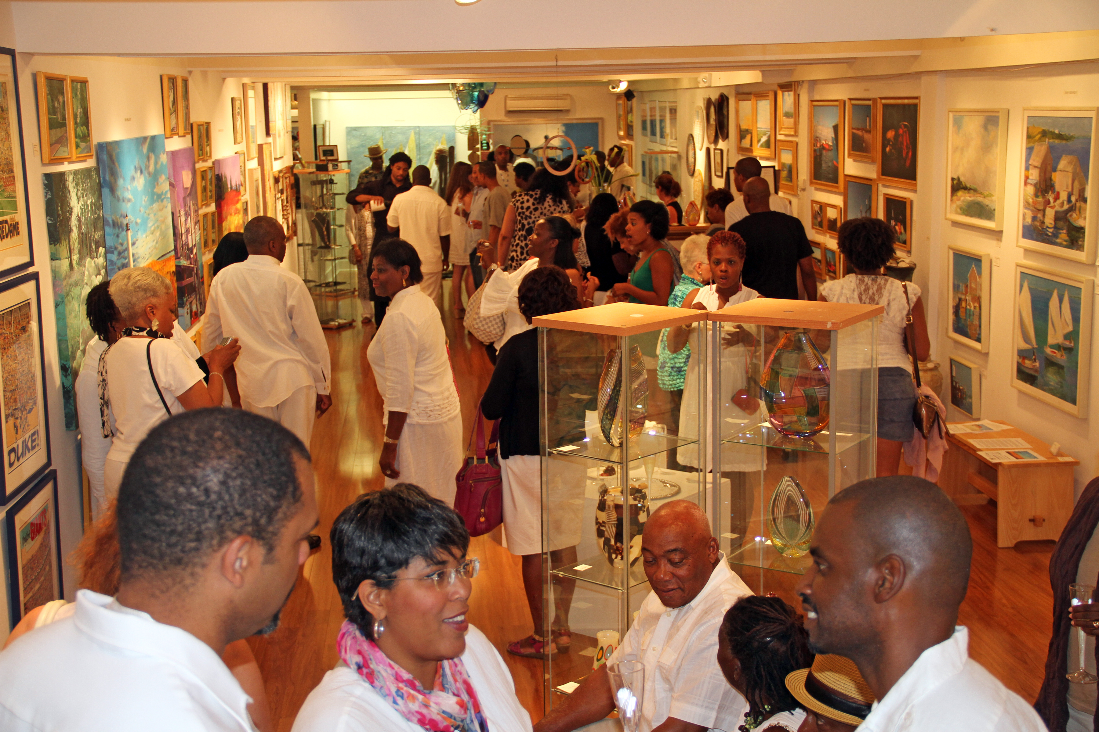 Gallery Opening by L. Gould